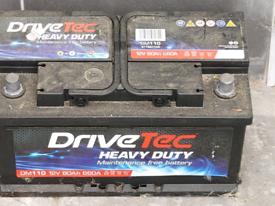 Drive Tec Heavy Duty car battery