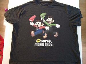 Super Mario Bros. Tshirt Medium $5