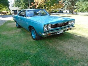 1969 plymouth sport satelitte  2 dr ht