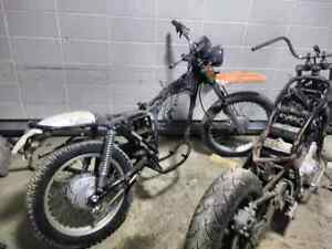 1981 Honda Xl 350 rolling chassis
