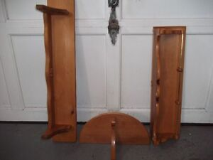 ASSORTED ROXTON MAPLE ACCENT SHELVES