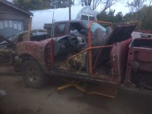 Parting out a 1999 Ford danger