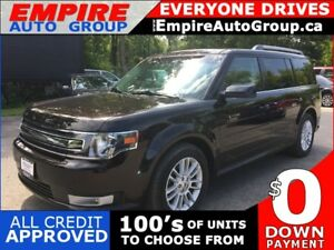 2013 FORD FLEX SEL * AWD * LEATHER * NAV * REAR CAM * PANO SUNRO