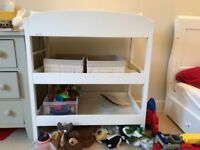 White good condition changing table