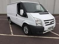 2010 60 PLATE FORD TRANSIT LIMITED EDITION ONLY 77K