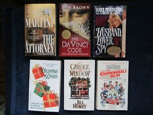 Various Paperback Books