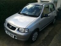04 alto only 37000 miles years mot