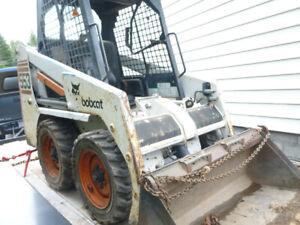 BOBCAT 553 MODEL WITH TRAILER FOR SALE $18,000 OBO