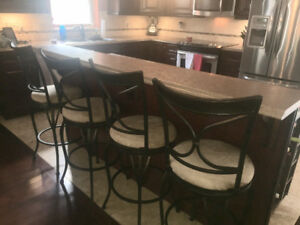 Swivel Bar/Kitchen Island Stools