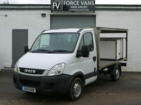 IVECO DAILY 2.3TD 35S11 SWB MILK FLOAT TRANSPORT DELIVERY FLAT BED COURIER VAN