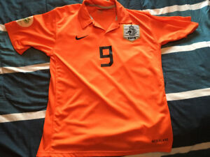 Official 2006 world cup Ruud Van Nistelrooy Netherlands Jersey