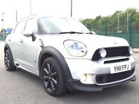 2011 MINI COUNTRYMAN COOPER SD ALL 4 - NAV - LEATHER - PANROOF - FULLY LOADED