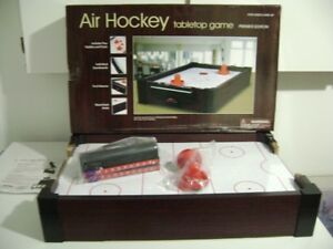 Air Hockey Tabletop game . Premier Edition