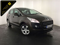 2012 PEUGEOT 3008 ACTIVE HDI DIESEL 1 OWNER SERVICE HISTORY FINANCE PX WELCOME