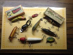 Wanted old / antique fishing lures