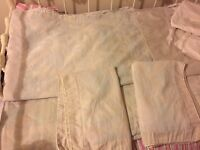 Sanderson king size duvet and throw set