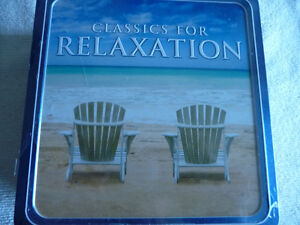 "CD's (10) Boxed ""CLASSICS FOR RELAXATION"""