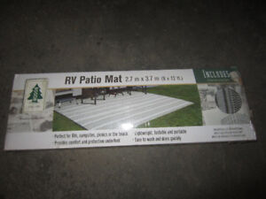 Campsite Outdoor Mat by Woods - NEW
