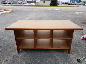 Solid Wood Coffee Table NO HOLDS