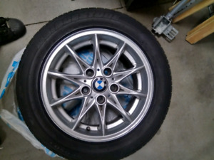 BMW rims and tires, 225/50R16