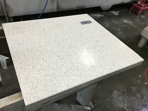 "*CAESARSTONE ""Oyster"" COUNTERTOP* 27 ½"" x 25 ½"""