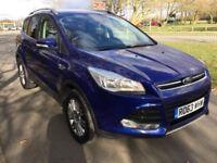 Ford Kuga Titanium 2.0TDCi 140PS 2WD Good / Bad Credit Car Finance (blue) 2014