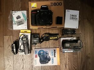 Nikon D800 Full Frame Camera Body