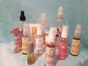 Beauty Purge!!!  Mixed lot of body sprays and lotions.