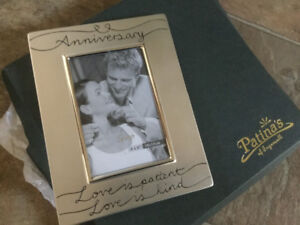 Silver-coloured Anniversary Frame