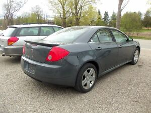 2009 Pontiac G6 PODIUM EDITION Sedan