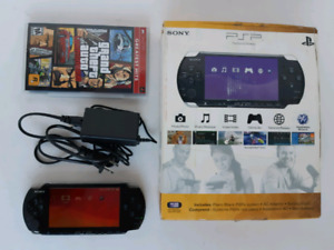 Sony PSP With GTA Game