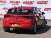 2017 Vauxhall Astra 1.4T 16V 150 Elite 5dr Auto Hatchback Hatchback Petrol Autom