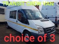 Ford Transit 2.4TDCi Duratorq ( 115PS ) 350L 350 LWB MESS/CREW VAN 2012