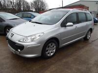 Peugeot 307 SW 1.6 16v 2005MY S 5 DOOR ESTATE WITH ONLY 75,000 MILES
