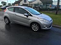 2009 FORD FIESTA ZETEC 1.6 TDCI £20 ROAD TAX 82K JUST SERVICED VERY CLEAN CAR