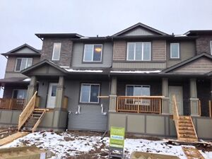 New Townhomes Double Garage No Condo Fees