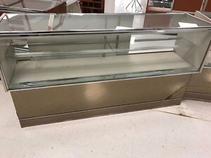 Glass display cases - Various sizes and styles for le$$
