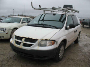JUST IN 2007 DODGE CARAVAN FOR PARTS @ PICNSAVE WOODSTOCK