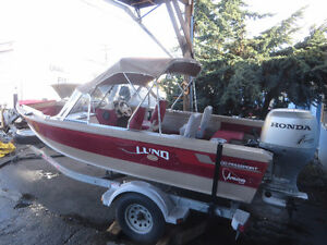 16 Foot Lund Boat 1998