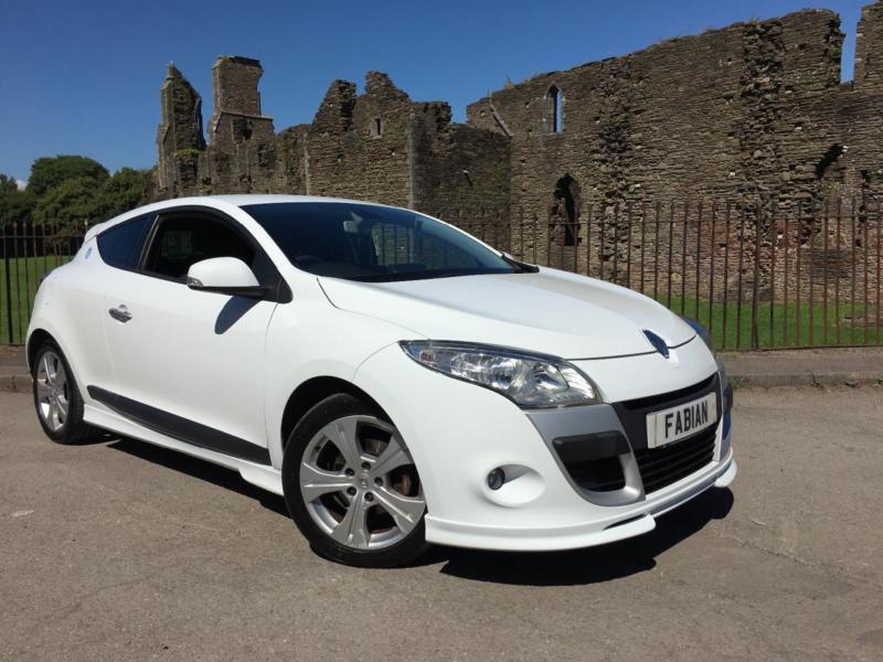2009 59 renault megane 106 dynamique coupe diesel world series white in neath neath - Renault megane 2009 coupe ...