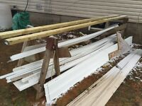 Roofing, siding, and soffit materials