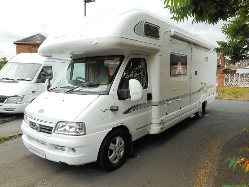 Bessacarr E745 4 Berth Motorhome for Sale. Low Mileage. Spacious family layout