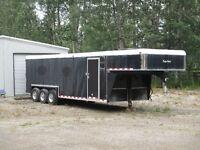 2006  Kiefer Built  31 ft 5th wheel cargo trailor
