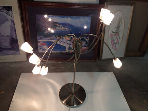 Artistic Stainless Steel Table Lights