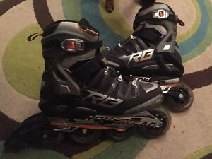 ROLLERBLADES -- SIZE 10 MENS -- 90mm WHEELS