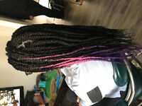 Hair braiding services hair included!!