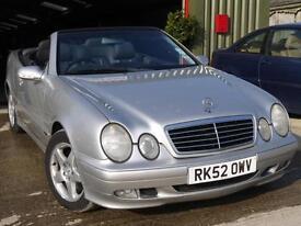 Mercedes-Benz CLK230 Kompressor 2.3 auto CLK230 Avantgarde.CONVERTIBLE