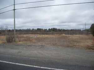 Vacant lot- Highway exposure-- French River