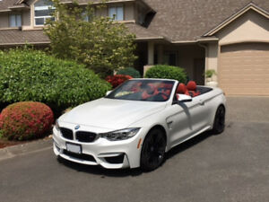 2016 BMW M4 Convertible with Executive Package
