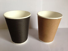 Coffee Paper Cups & Lids x 1000pcs starting at low price $35! Thornleigh Hornsby Area Preview